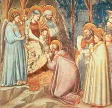 Natività, Giotto